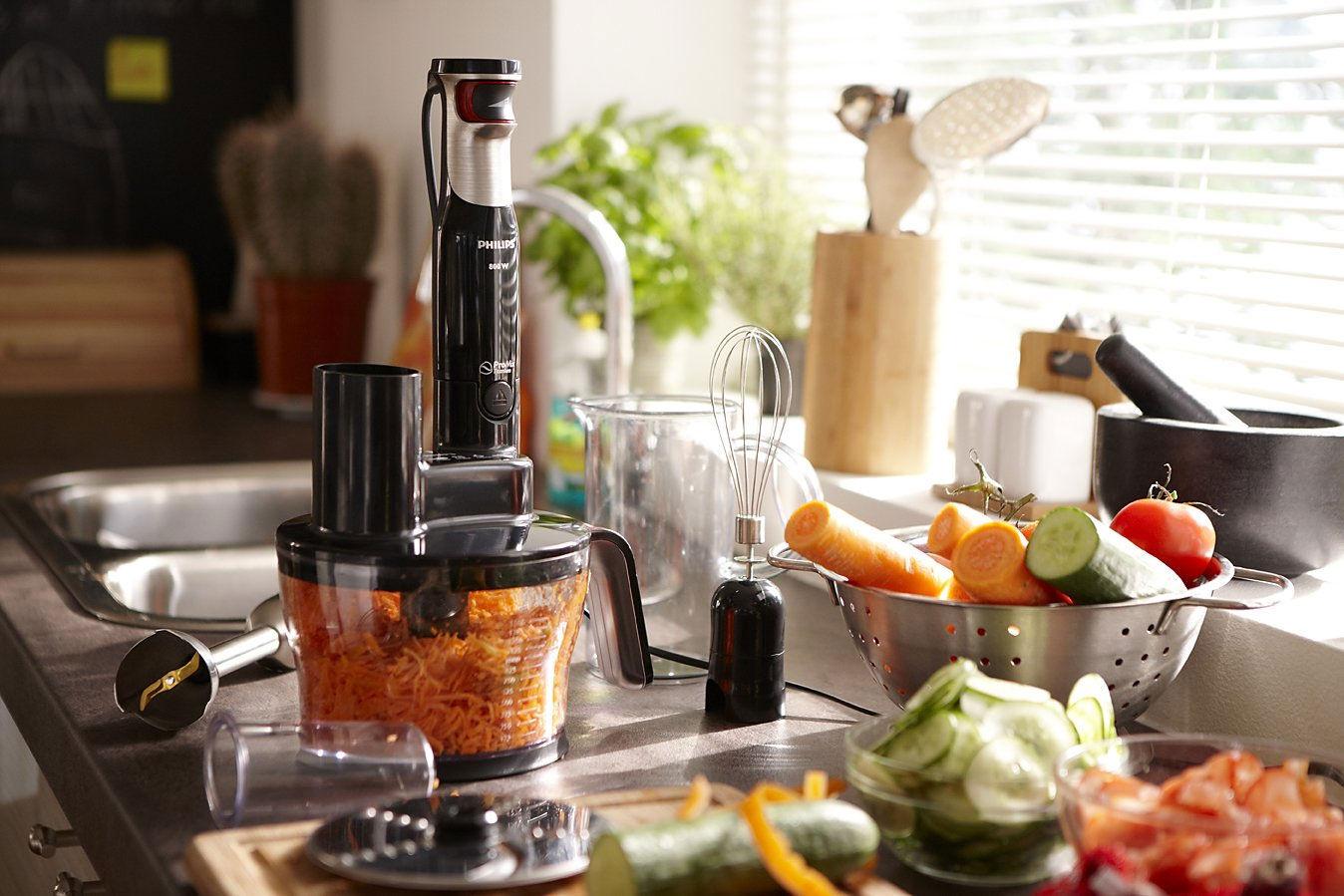 Для чего на кухне нужен блендер