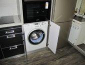 Как скрыть стиральную машину на кухне
