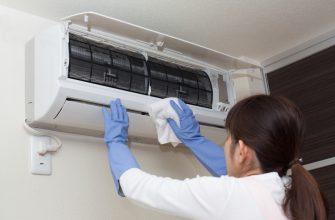 Как самостоятельно почистить домашний кондиционер