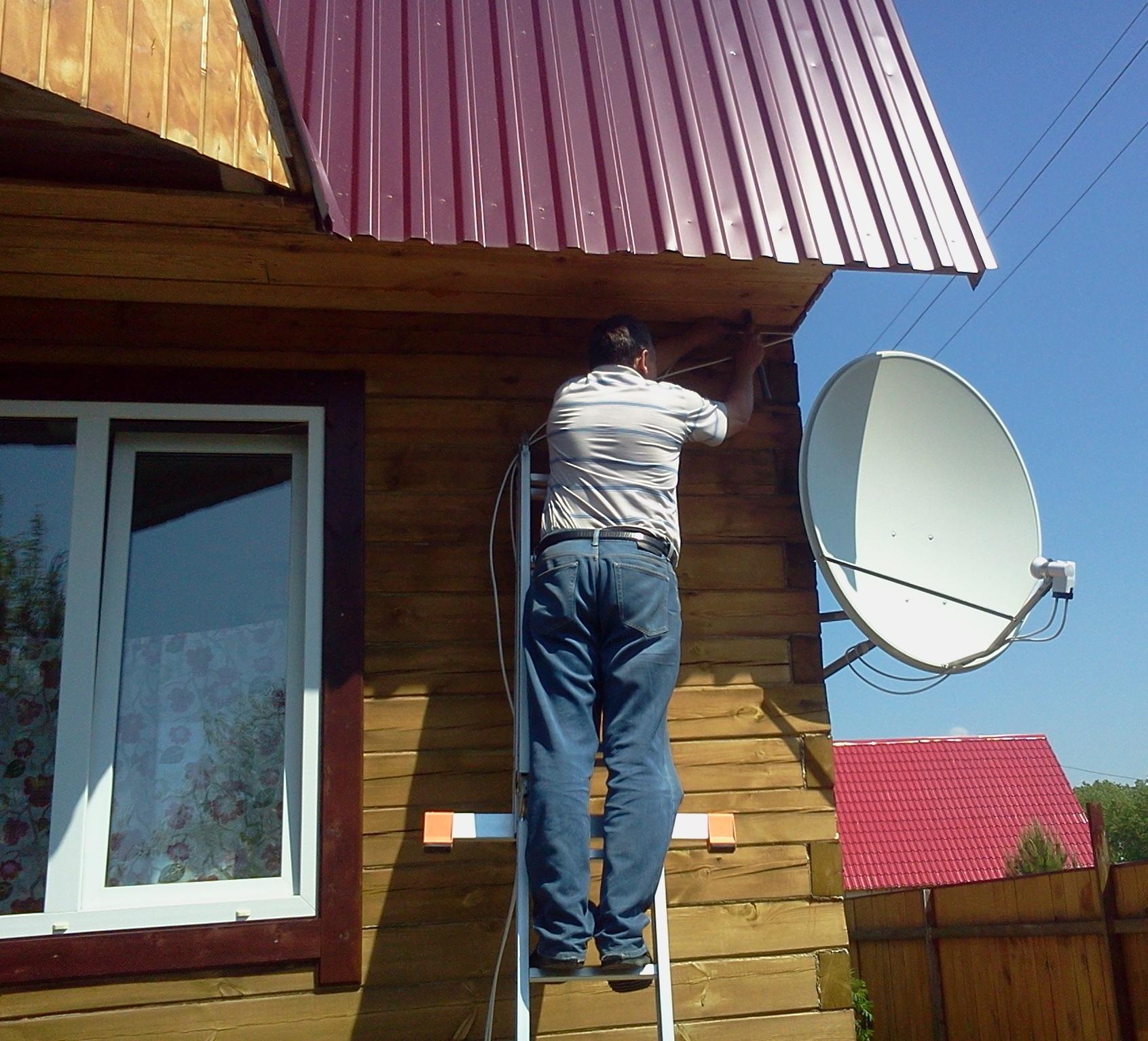 Спутниковая антенна своими руками фото 162