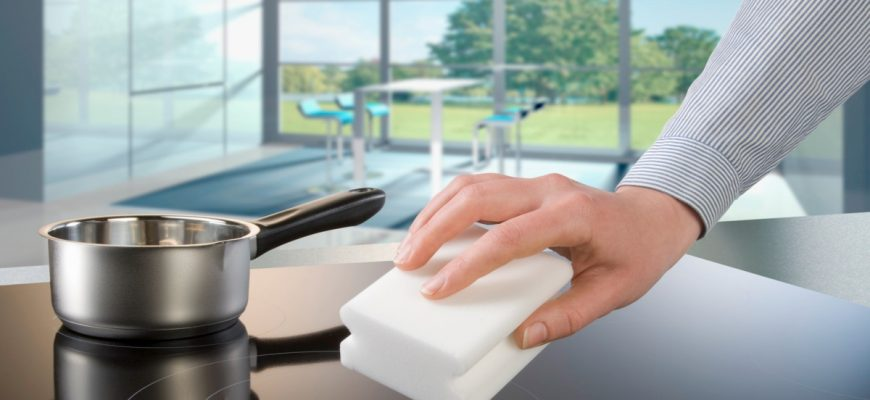Как почистить стеклокерамическую плиту, чтобы не повредить поверхность