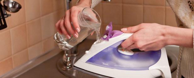 Как почистить утюг от накипи внутри лимонной кислотой