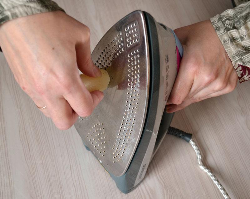 Очистить тефлоновый утюг от нагара в домашних условиях 380