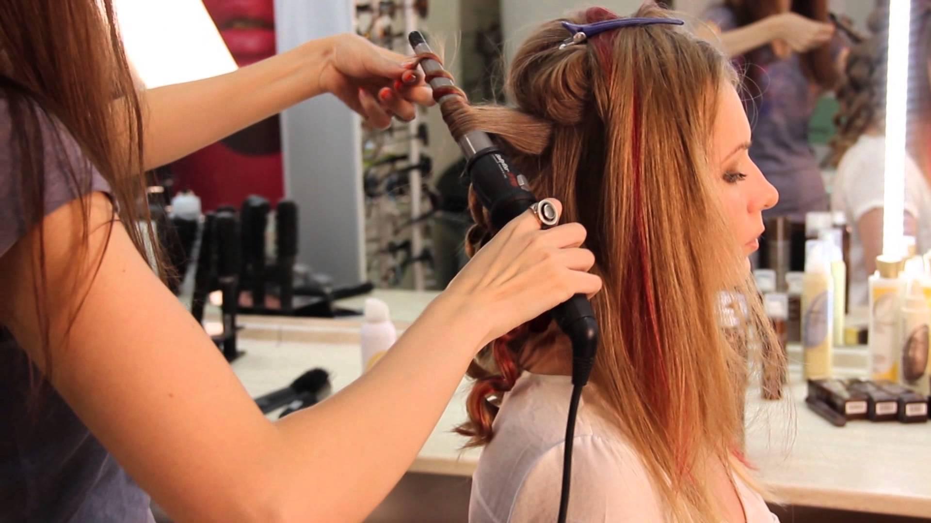 Как правильно крутить локоны плойкой для волос