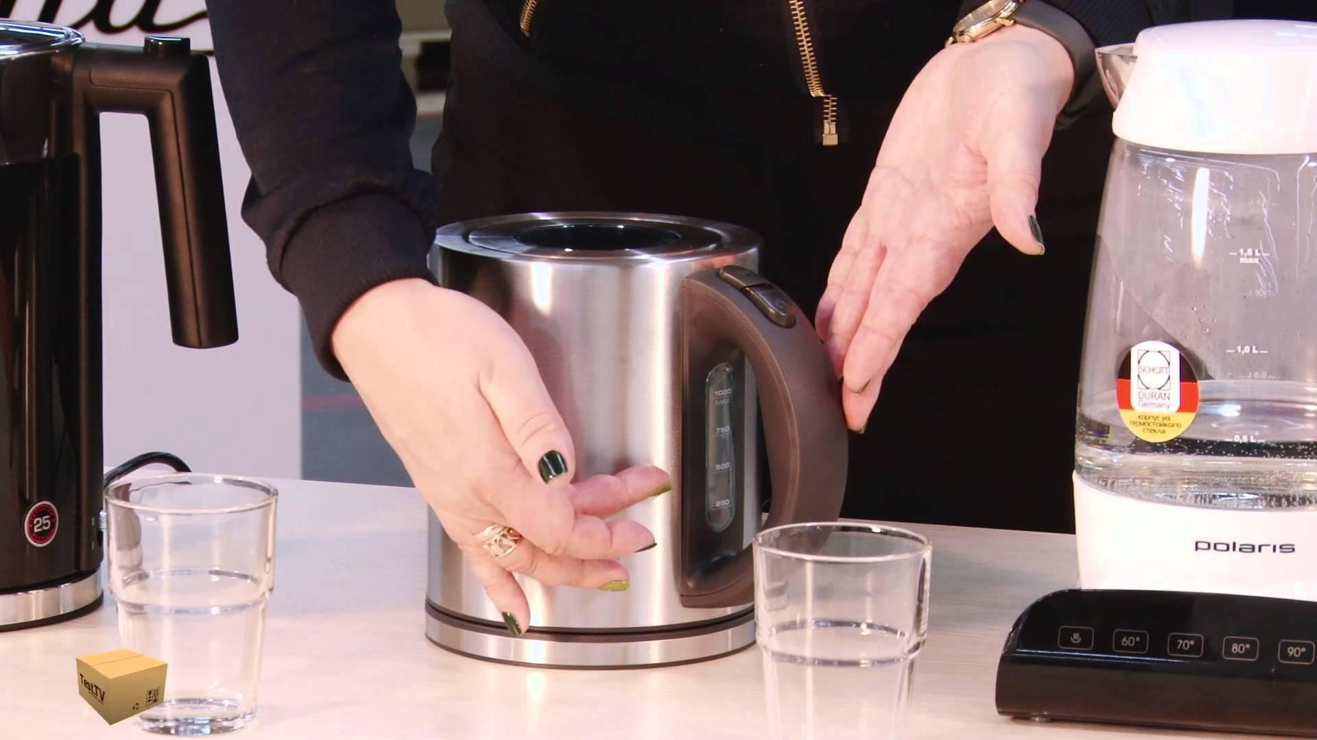 Как очистить электрический чайник от загрязнений