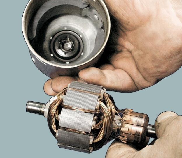 Асинхронный двигатель без корпуса