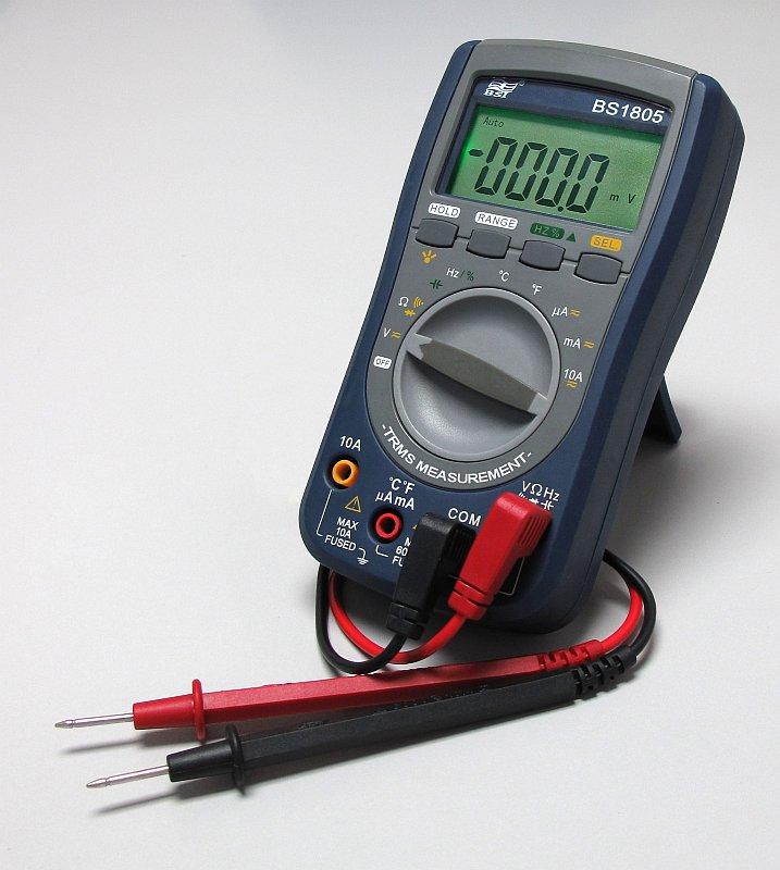 Универсальный измерительный прибор — мультиметр