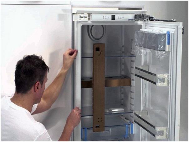 проверка работоспособности холодильника с помощью грузика