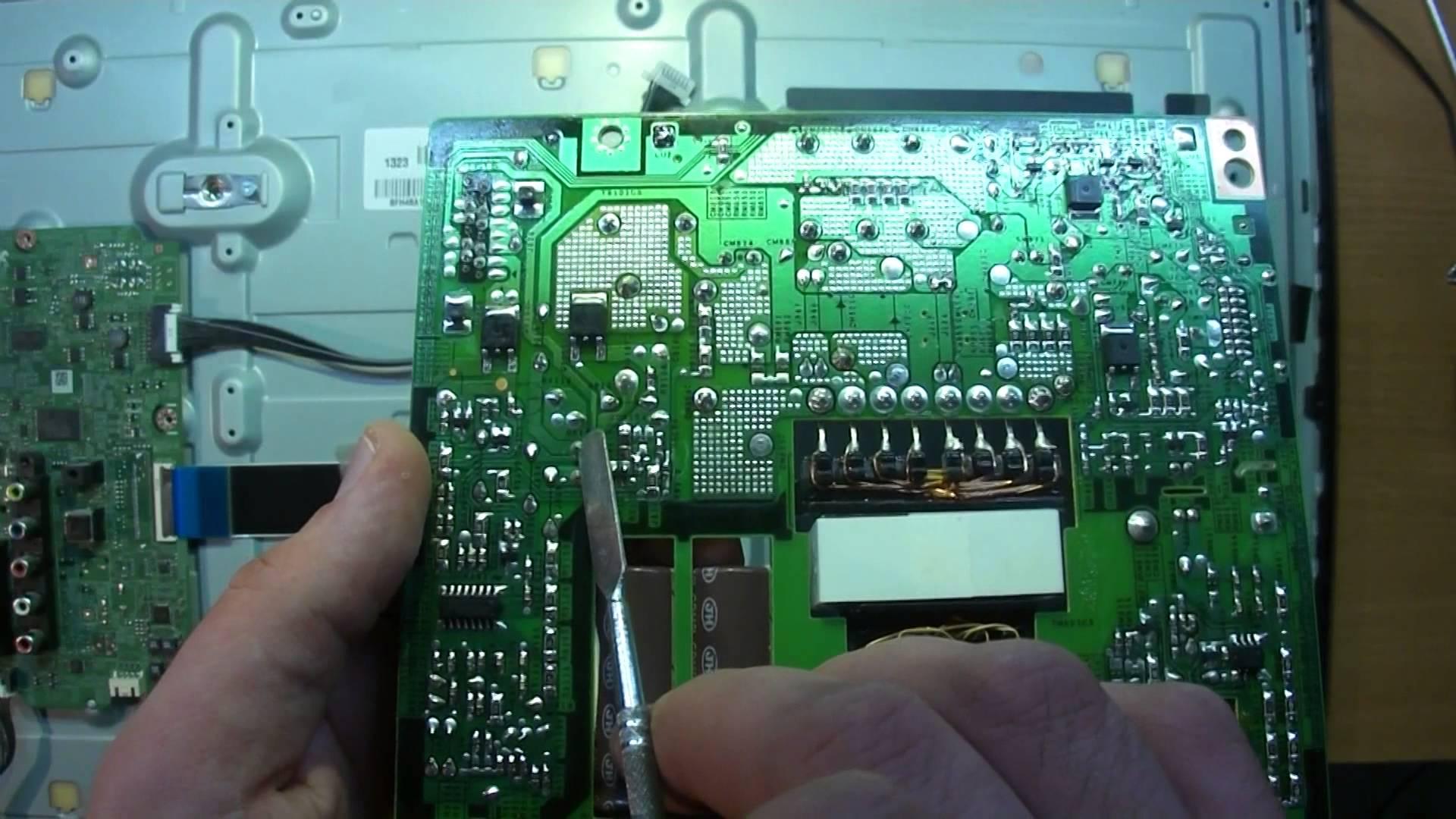 Почему пропадает подсветка изображения на телевизоре Samsung UE32F6200AK