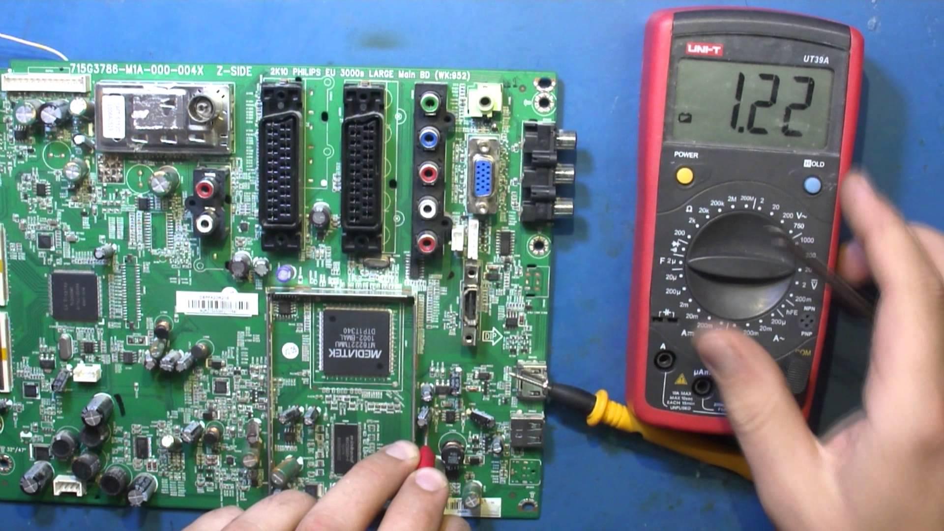 Не включается телевизор Рубин 55FS07T