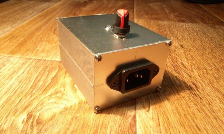 Регулятор с симистором и диодным мостом — образец