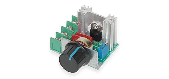 Симистор с радиатором
