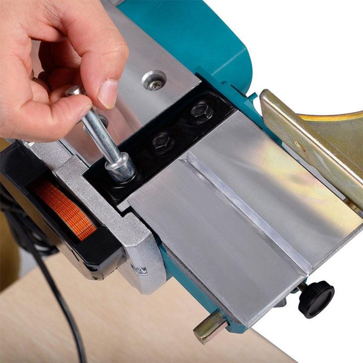 Замена ножей электрического рубанка
