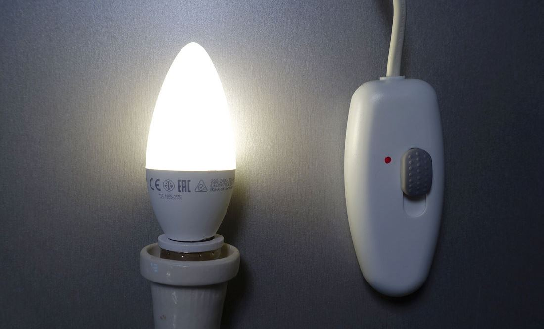 Диммеры для светодиодов и светодиодных ламп на 220В: функции, выбор, подключение