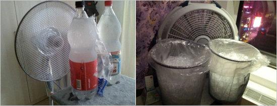 Варианты ёмкостей для замороженной воды