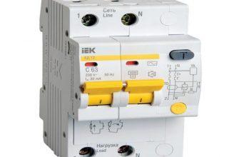 Дифавтомат — надёжная защита от замыканий и перегрузок