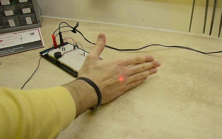 Лазер сигнализации