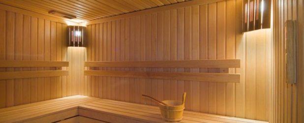 Освещение и проводка в бане