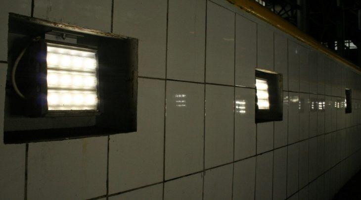 Осветительные конструкции для гаража