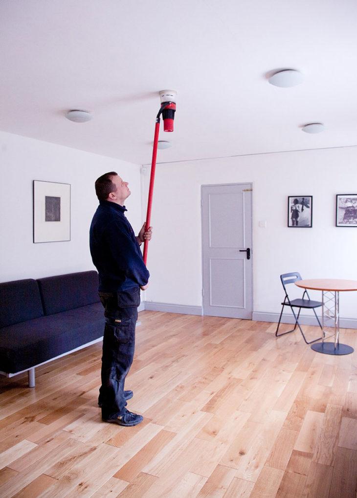 Проверка работоспособности теплового извещателя