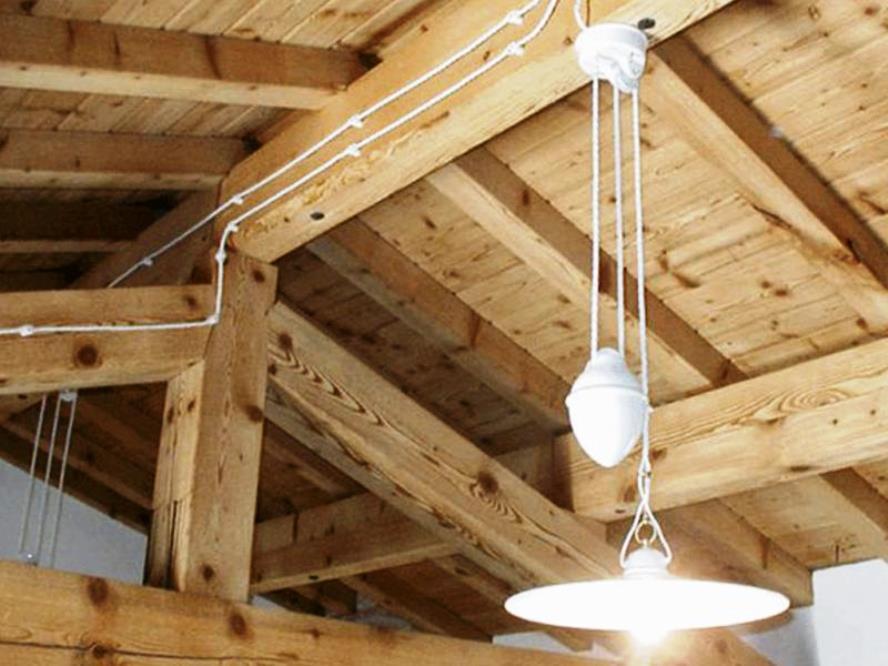 Как сделать проводку ретро в деревянном доме