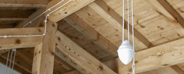 Ретро-проводка в деревянном доме