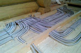 Стальные трубы для монтажа электропроводки
