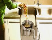 Измельчитель пищевых отходов в действии