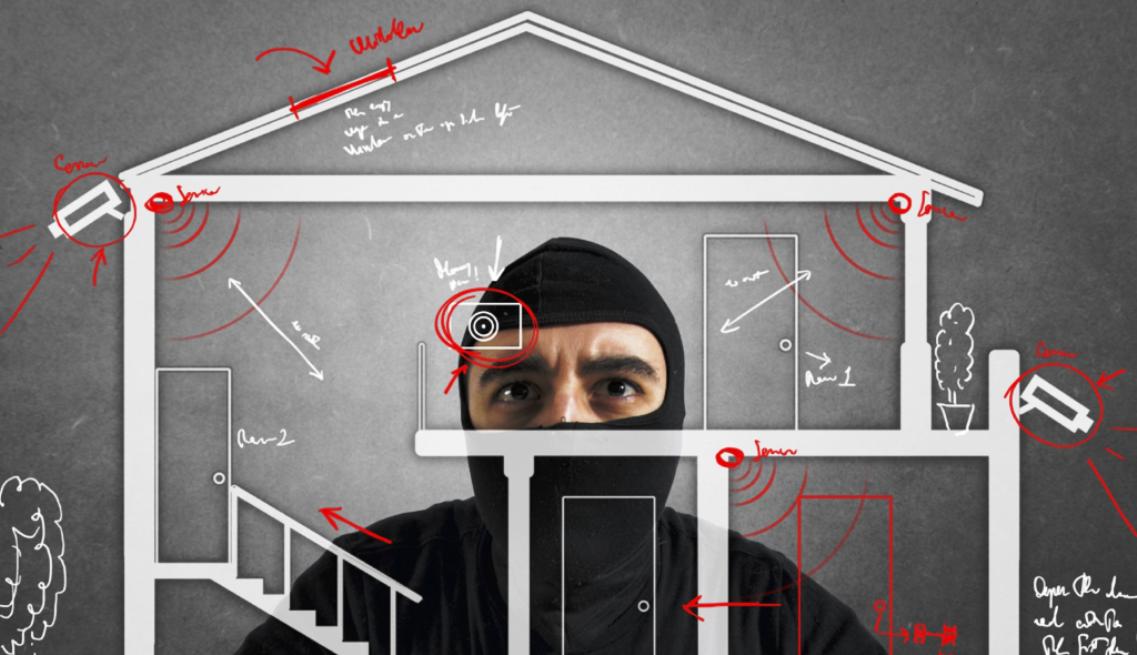 Муляж охранной сигнализации для дачи, гаража, дома