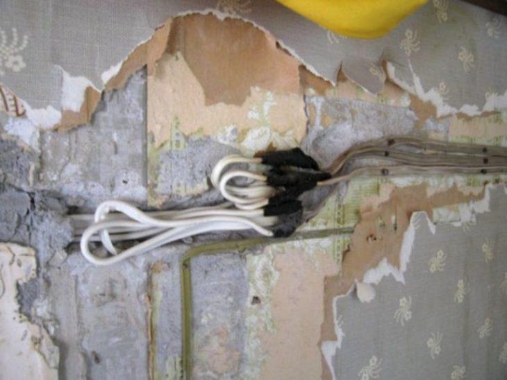 Старая электропроводка