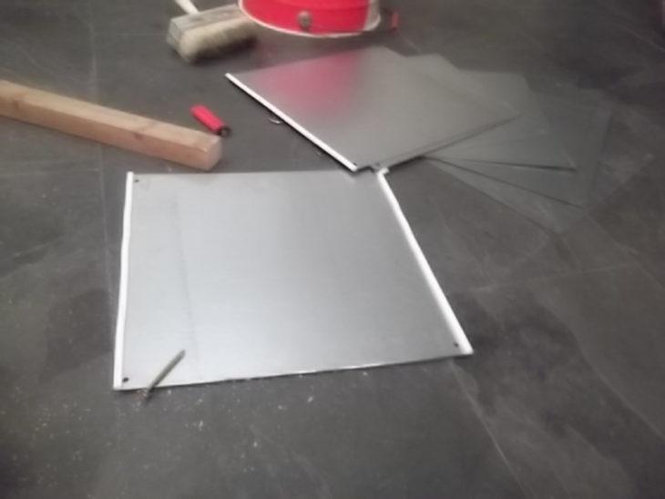Пластина рекуператора из листовой стали