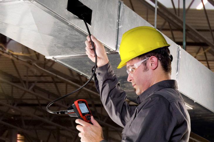 Техническое испытание вентиляционной установки