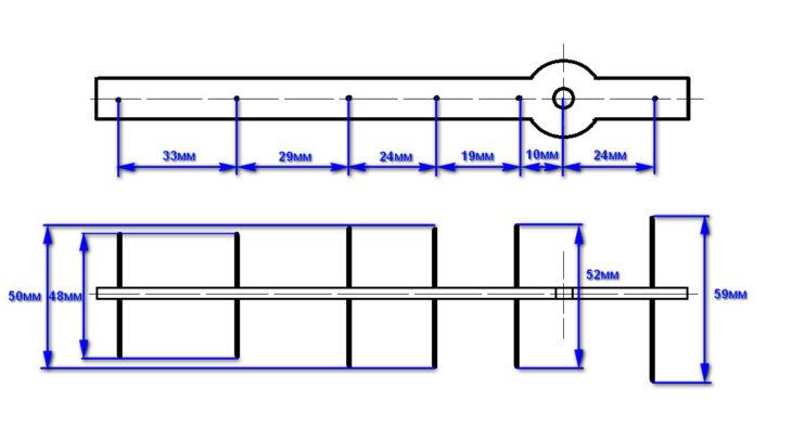 Схема сборки фокусирующей насадки на роутер