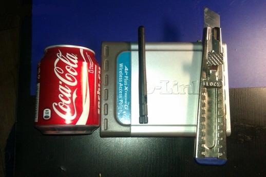 Материалы и инструменты для изготовления Wi-Fi-усилителя