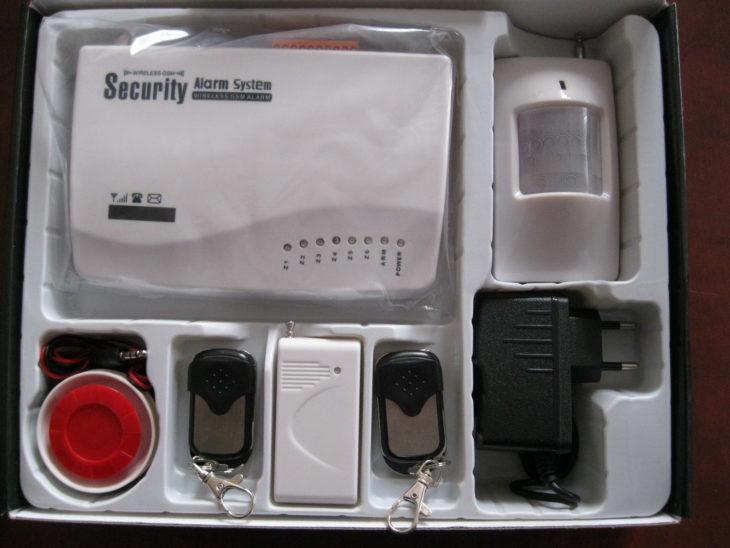 Беспроводная сирена GSM