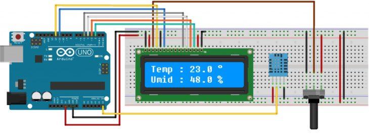 Датчик температуры и влажности
