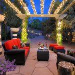 Декоративное освещение зоны отдыха