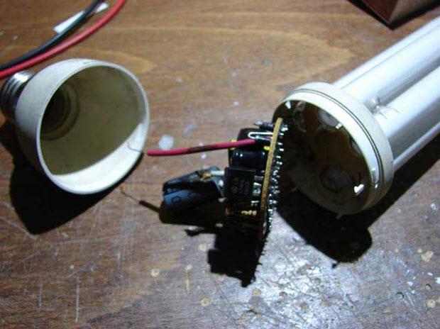Элементы лампы