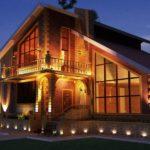 Освещение дома и придомовой территории