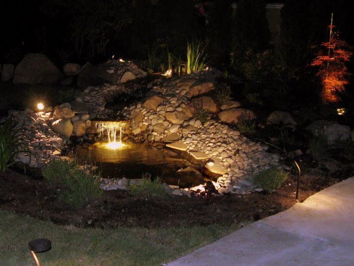 Освещение водоёмов