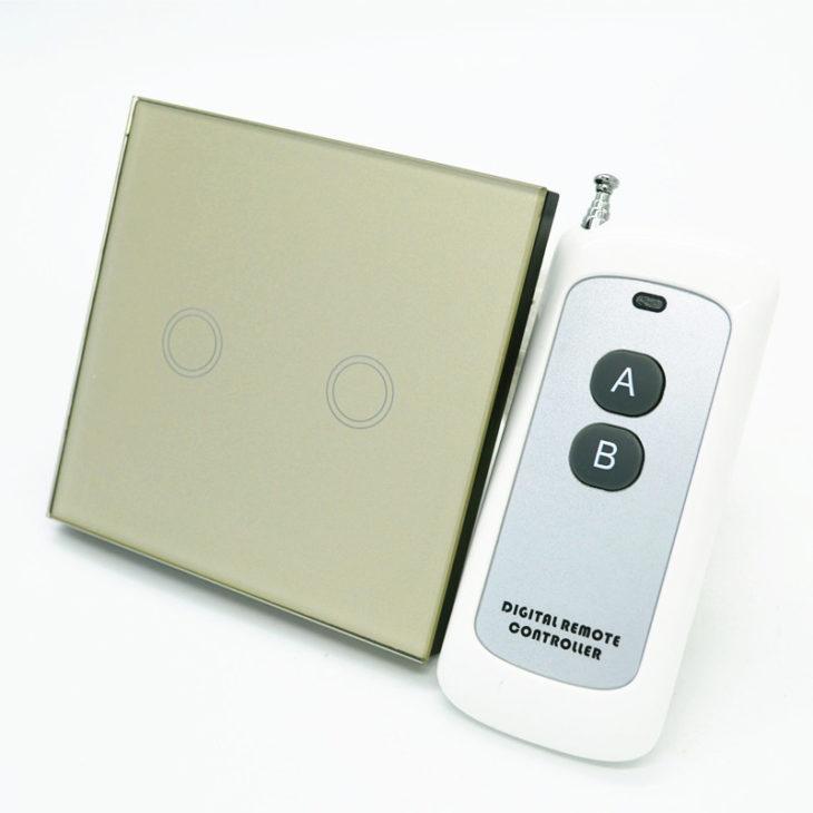Сенсорный выключатель с ПДУ