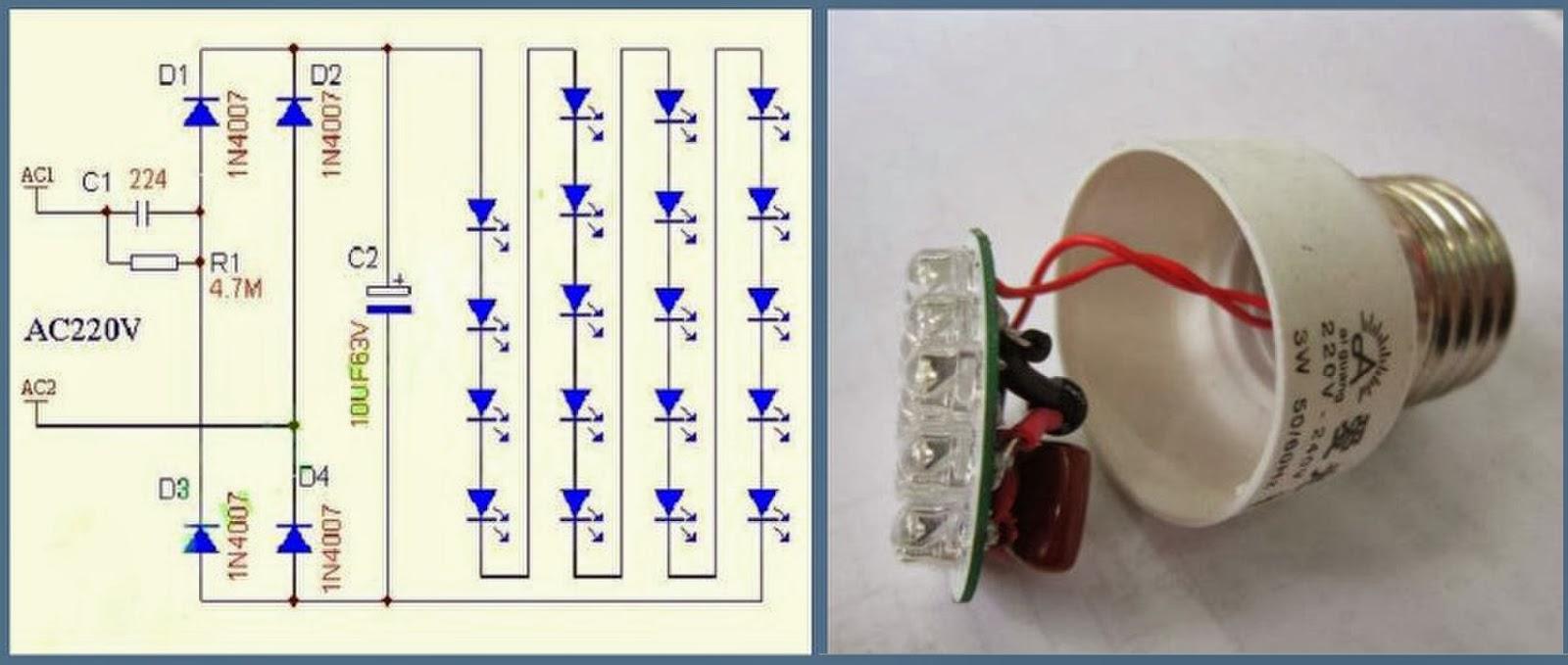 Светодиодный светильник своими руками: схемы, фото, видео 89