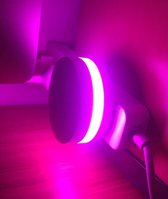 Шлюз с подсветкой