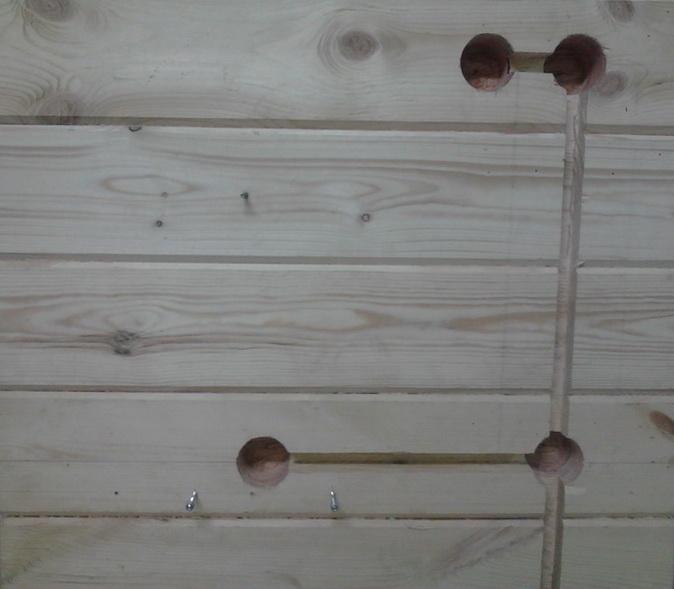 Штробы в деревянных стенах