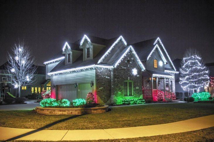 Светодиодная подсветка в оформлении дома