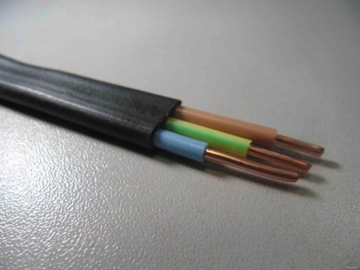Трёхжильный кабель