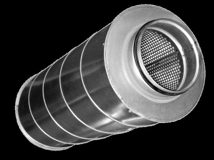 Трубчатый шумоглушитель