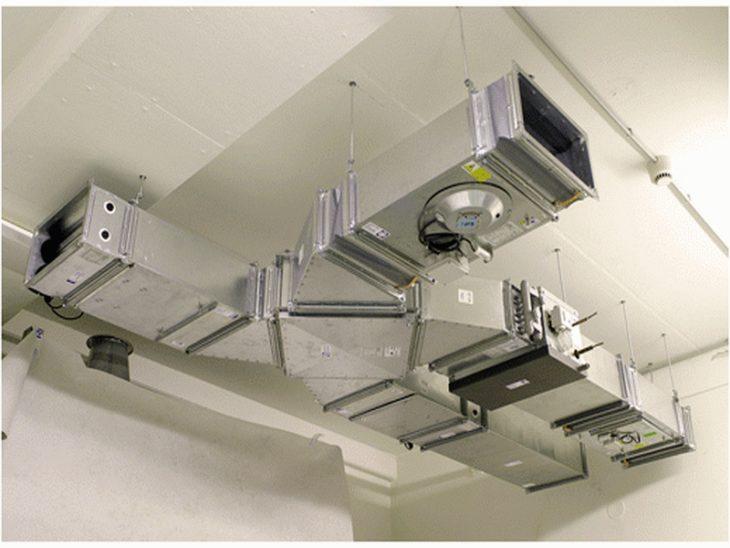 Применение трубчатого шумоглушителя в вентляции