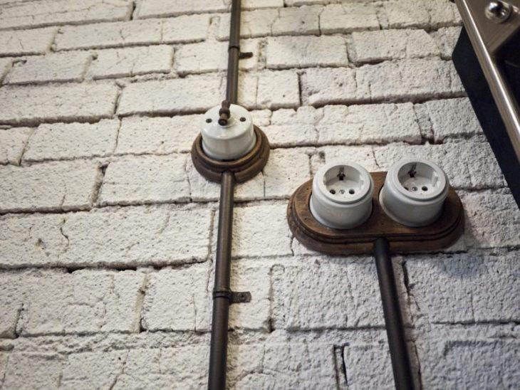 Выключатель для наружной проводки