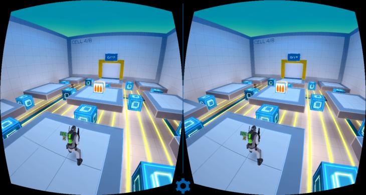 Фокусировка изображение в VR